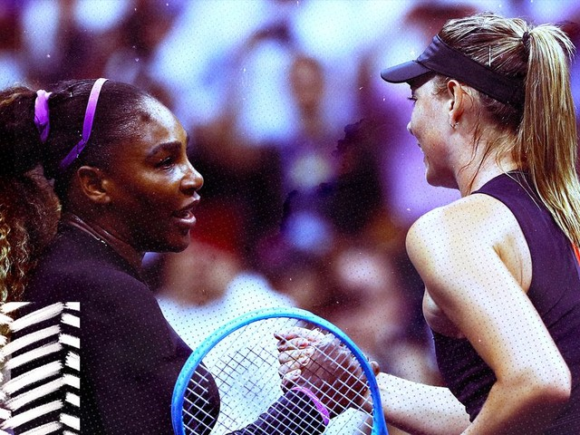 The Serena Williams-Maria Sharapova rivalry doesn't exist