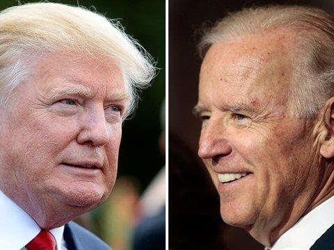 """Trump Blasts """"Low IQ"""" Biden After Former VP Accidentally Announces His Candidacy"""