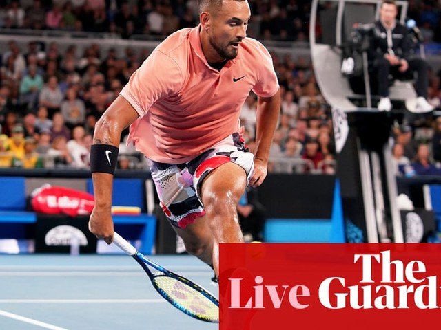 Australian Open 2020: Kyrgios v Sonego, Halep battles through – live!