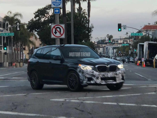 Spied! BMW X3 M Prototype Prowls the Streets of L.A.