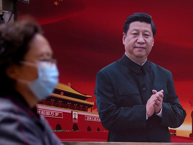 China's social media propaganda machine has tried to shift the country's image from a source of COVID-19 to a global leader in fighting it, research reveals