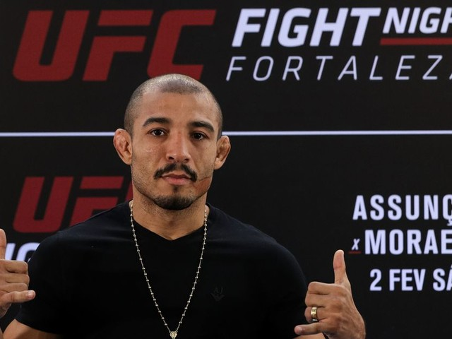 Photo: Check out Jose Aldo less than 24 hours from UFC 245 weigh-ins