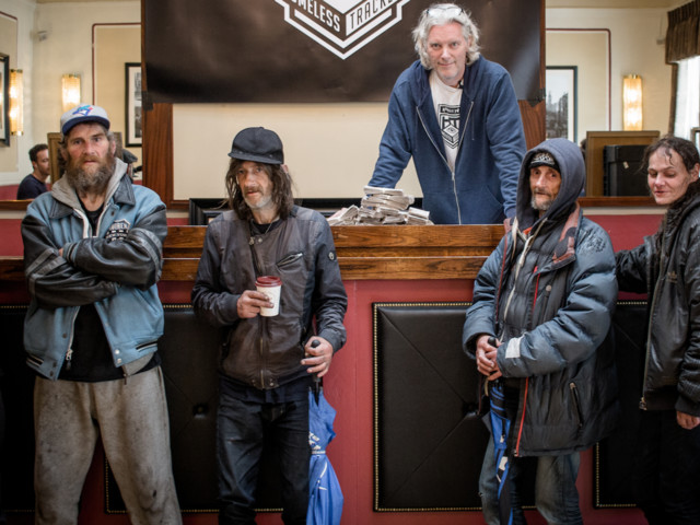 'Buy A Homeless' Project Participants Explain Why They're Happy To Be 'Sold'