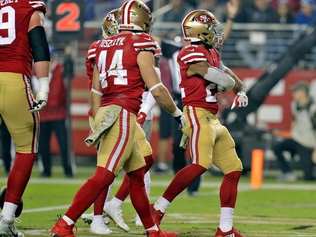 49ers finished off by Giants in 27-23 loss