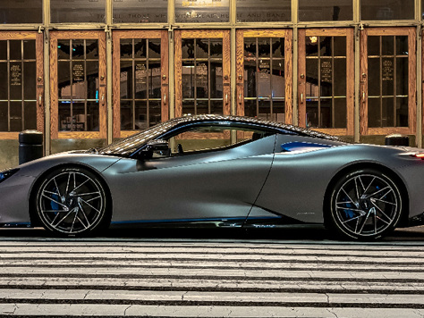 Automobili Pininfarina's Battista hypercar debuts in North America
