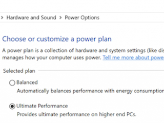 New Windows 10 'Ultimate Performance' Mode Is Meant For Power Users