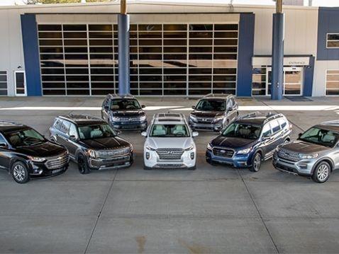 Comparison Tests: 3-Row SUVs