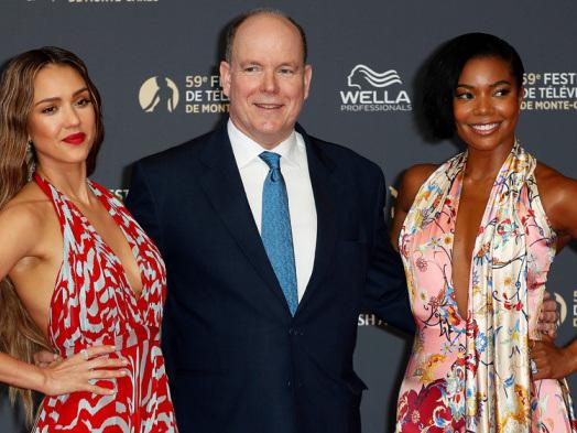 Jessica Alba, Gabrielle Union's 'L.A.'s Finest' Opens Monte Carlo TV Festival