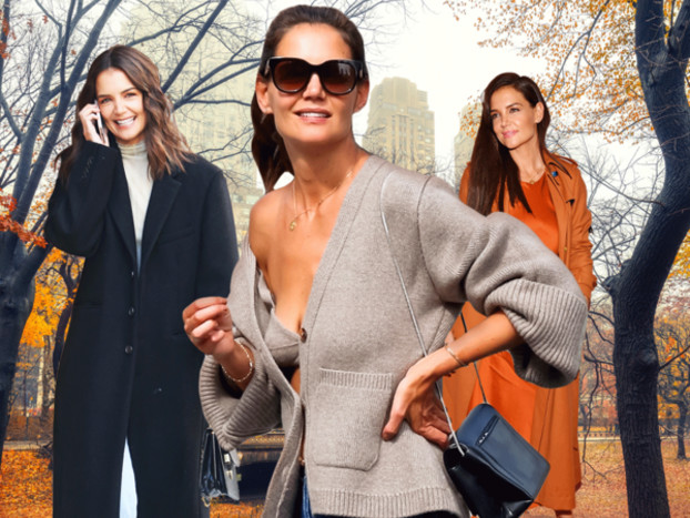 Can We Talk About How Katie Holmes Has Become a Fall Fashion Icon?