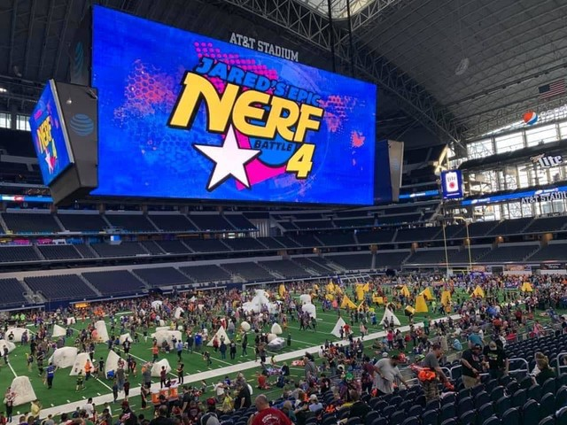 Lock and load: Giant NERF battle coming to Texas