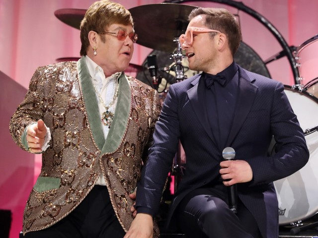 Taron Egerton Debuts Footage from Rocketman