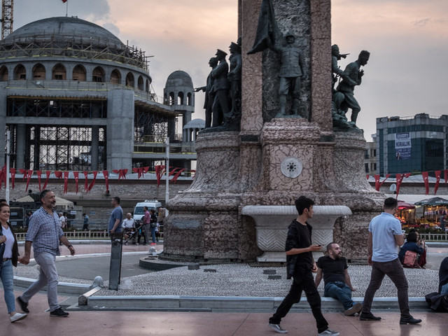 Istanbul Dispatch: In Istanbul, Erdogan Remakes Taksim Square, a Symbol of Secular Turkey