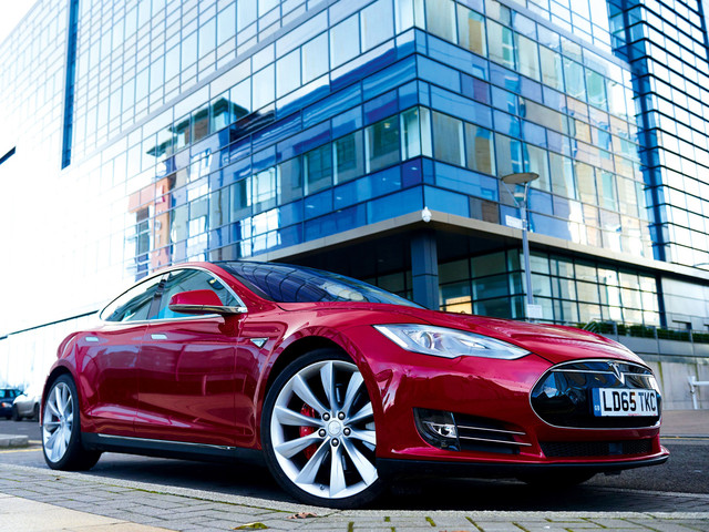 Used Tesla Model S vehicles tend to sell faster than other used luxury sedans
