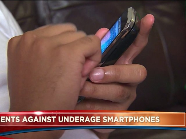 Should children under the age of 13 be banned for Smart phones?