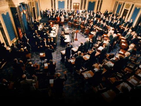 "Watch Live: Trump's ""Rushed & Rigged"" Senate Impeachment Trial Begins"
