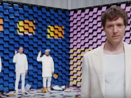 OK Go Dancing with 567 Printers