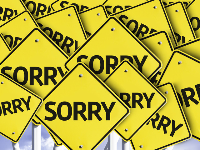 An apology letter to IT