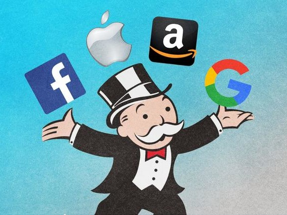 The Tech Monopolies Go Vertical