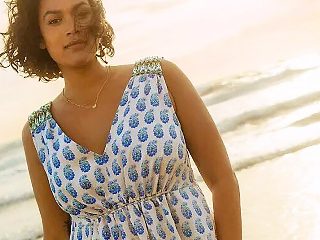 The Best Plus-Size Summery Dresses At Anthropologie