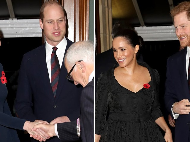 The Festival of Remembrance Brings the Royal Fab Four Back Together