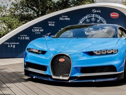 Bugatti's New Telemetry System Connects Chiron Owners With Their Personal Technicians