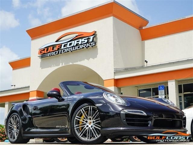 2014 Porsche 911--Turbo--S--Cabriolet