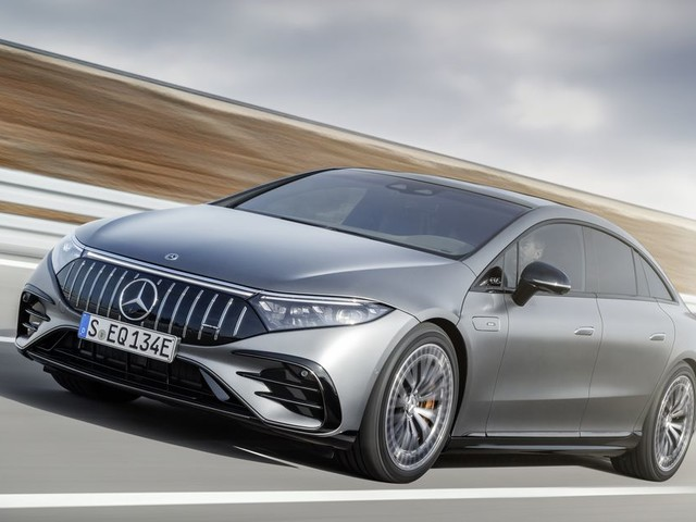 Mercedes-Benz AMG EQS is a dual-motor electric sedan with over 750 horsepower