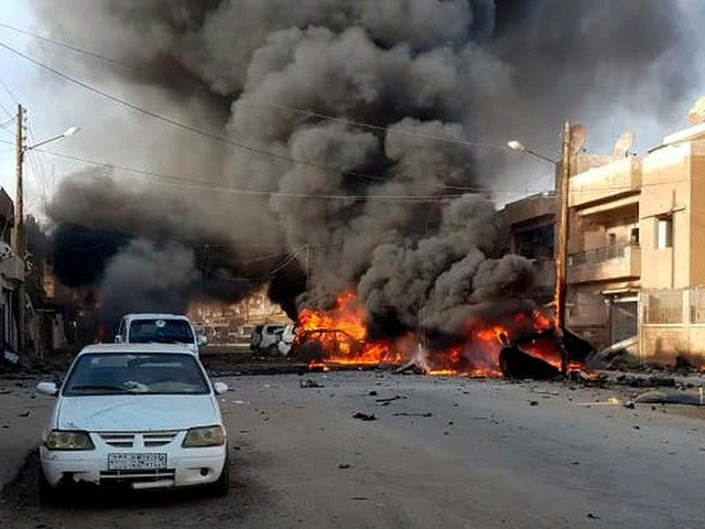 """Car Bombs Rock Northern Syria After """"Hundreds"""" Of ISIS PrisonersEscape"""