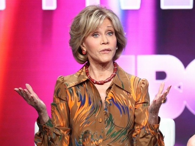 Jane Fonda Floats 'Halting' Governments If They Don't Fight Climate Change