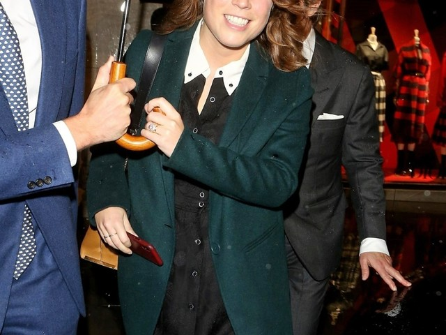 Princess Eugenie has been working & partying at Art Basel in Miami this week
