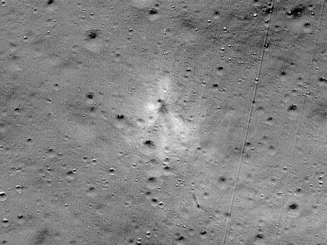 NASA spacecraft finds crash site of Indian lunar lander