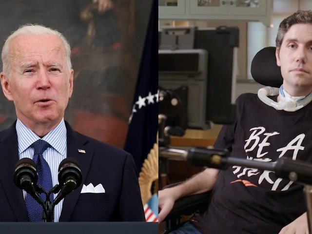 Biden's move to waive COVID-19 vaccine patents fulfills a 2020 campaign promise to Ady Barkan, a famed activist with the degenerative disease ALS