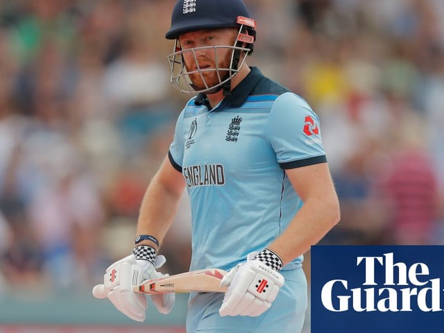 Jonny Bairstow blasts critics 'waiting for England to fail' at Cricket World Cup