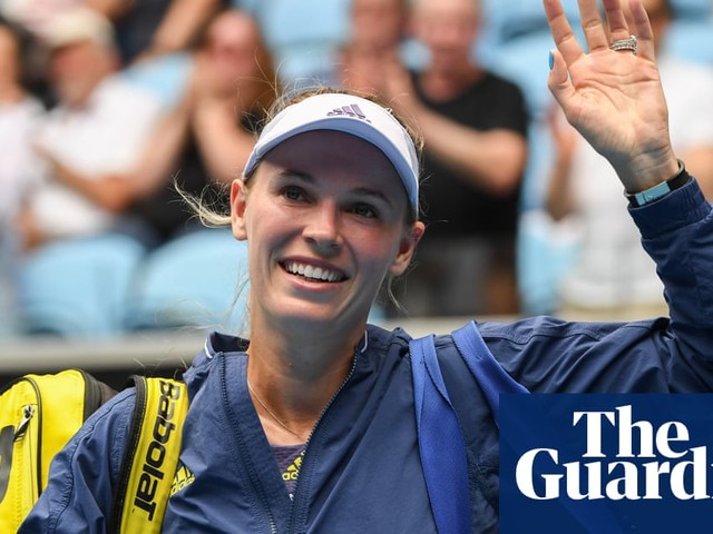 Caroline Wozniacki: 'This is what I've done my whole life … it's crazy it's coming to an end'
