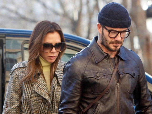 David & Victoria Beckham Are a Stylish Couple in Paris!