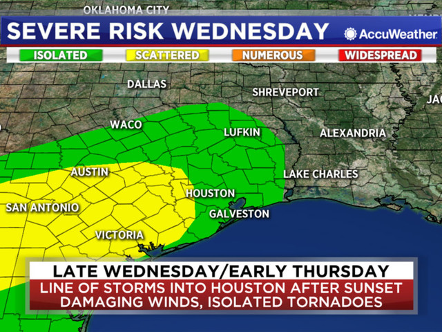 Chief Meteorologist Travis Herzog tracking possible severe weather Wednesday and Thursday