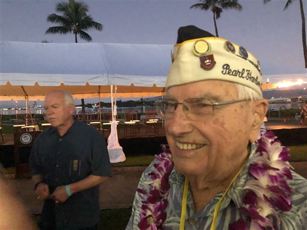 Ceremony honors those killed in 1941 Pearl Harbor attack
