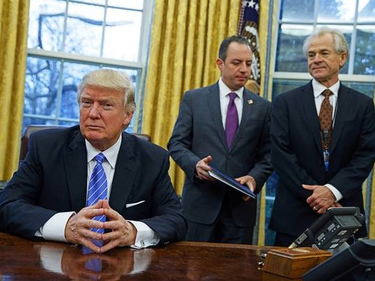 Priebus: Chaos reigned in early days of Trump White House