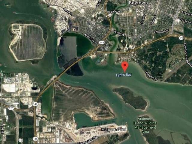 630 gallons of crude oil spilled in Tabbs Bay