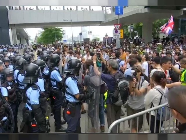 Hong Kong protest forces delay to extradition bill debate