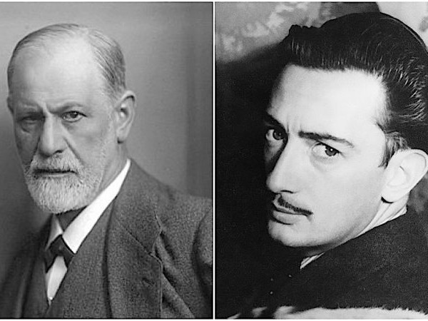 When Salvador Dali Met Sigmund Freud, and Changed Freud's Mind About Surrealism (1938)