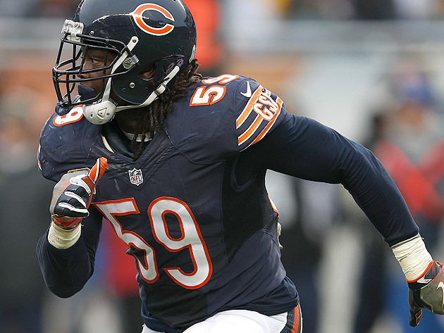 Injuries thin out Bears linebacking corps
