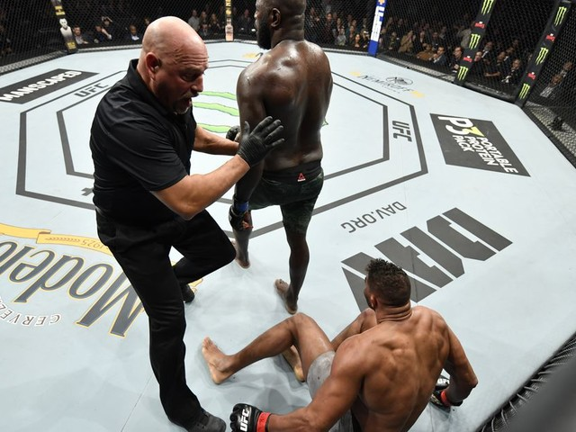 McCarthy: Miragliotta called the UFC DC stoppage 'based on the safety' of Overeem