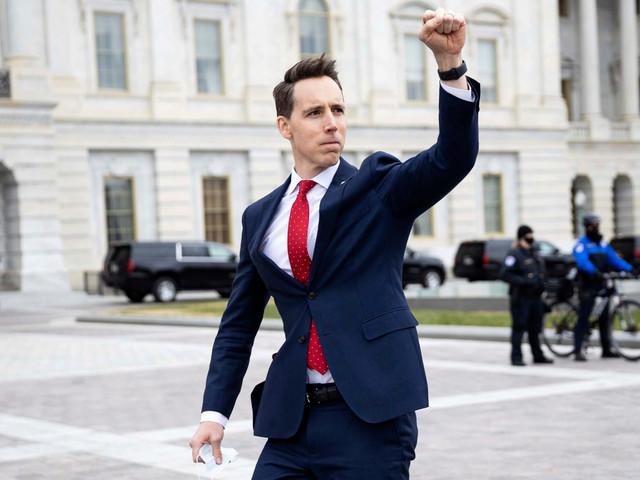 Sen. Hawley gets new book deal after publisher dumps him amid Capitol riots