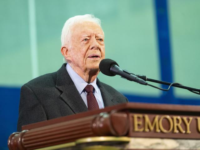 Former President Jimmy Carter hospitalized again