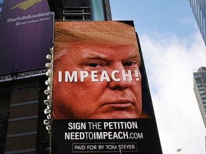 """Impeach Trump"" Billboards Have Come To Times Square"