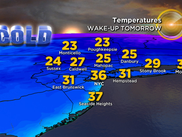 11/28 CBS2 Tuesday Morning Weather Headlines
