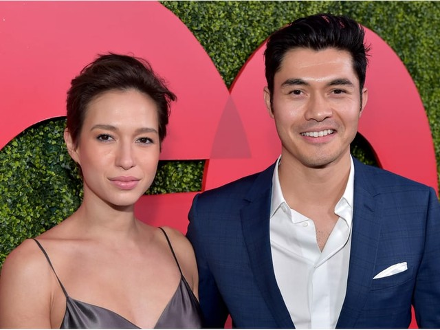 "Henry Golding Celebrates His ""Crazy"" Golden Globe Nod With Who Else but His Beautiful Wife"