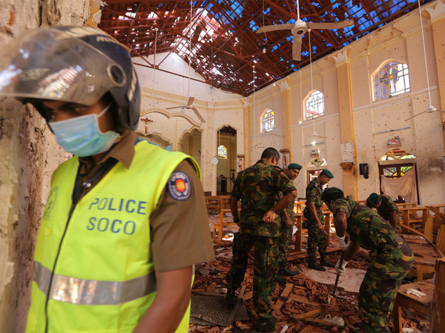 Sri Lanka declares state of emergency after terror attacks