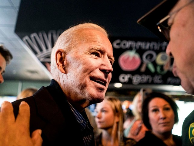Democrats were said to be furious and hungry for change. Then Biden jumped in.